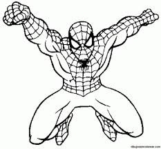 free coloring pages spiderman regard invigorate color