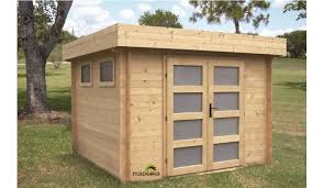 abris de jardin madeira abri de jardin bois 6 69 m 28 mm d épaisseur madeira kivik