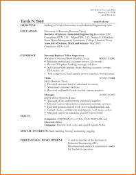Resume Examples Bank Teller by Bank Teller Resume Sow Template