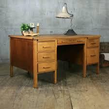 Solid Oak Office Desk Office Desk Roll Top Desk Cheap Desk Executive Office Desk Oak