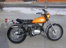 yamaha enduro the first bike that handled both trails and roads
