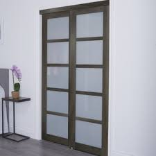 Sliding Door For Closet Sliding Closet Doors Bedroom Wayfair