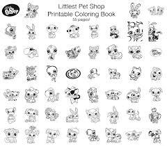 quirky artist loft littlest pet shop free printable coloring