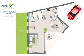 Town House Floor Plans Townhouse Types Mijas Garden