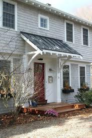 Door Awning Plans Front Doors Gorgeous Front Door Overhang Design For Home Ideas