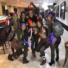 Ninja Turtle Halloween Costume Girls Cheap Halloween Group Costumes Popsugar Smart Living