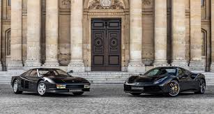 gold and black ferrari the wolf of wall street u0027s other car was a ferrari testarossa