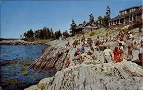 Rock Gardens Inn Rock Gardens Inn And Cottages Sebasco Maine Original Vintage