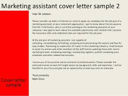 resume examples templates marketing assistant cover letter simple
