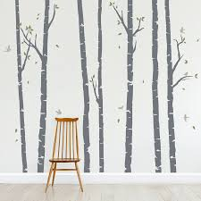 Vinyl Tree Wall Decals For Nursery by Birch Tree Wall Decal Roselawnlutheran