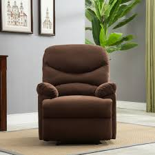 Livingroom Club Plush Recliner Livingroom Reclining Chair Man Cave Tv Living Room