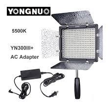 Yongnuo Yn300 Iii Yn 300 Lil 5500k Cri95 Pro Led Video Light With