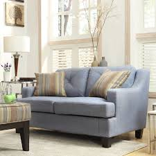 ls that hang over couch chelsea lane upholstered loveseat blue e502ls bul ls chelsea