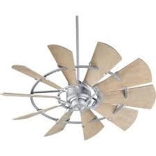 10 blade ceiling fan oaks 52 mercado d 10 blade outdoor ceiling fan finish galvanized