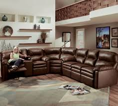 Lane Furniture Leather Reclining Sofa by Touchdown Reclining Sectional 292 Sofas And Sectionals