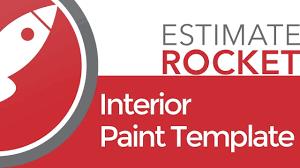 100 interior painting estimate template pep paint
