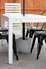 Tall Outdoor Table Patio Furniture A69c5a2f03d0 1 Umbrella Stand For Tall Patio