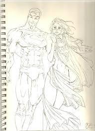 michael turner superman sketch by cokra on deviantart