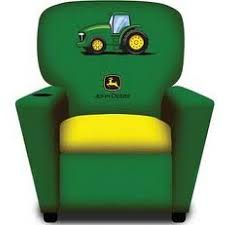 john deere green and yellow kid u0027s recliner rungreen com