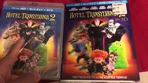 hotel transylvania 2 blu ray 3d unboxing