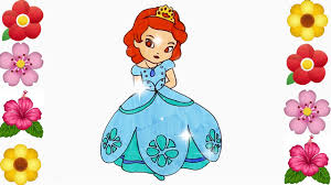 draw sofia princess sofia coloring book