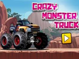 crazy monster truck free game games racing