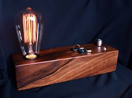 edison lamp vintage lamp christmas gift industrial lamp wood lamp