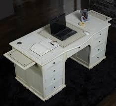 bureau chene blanchi bureau bois et blanc unique bureau chene blanchi avec les meilleures