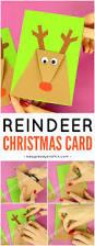 reindeer christmas card craft xmas and cards