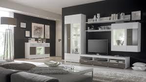 Einrichtungsideen Wohnzimmer Grau Modernes Haus Weis Glanz Wohnzimmermobel Moderne Wohnwand In