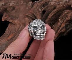 steel skull rings images 30 off stainless steel skull ring for men jpg