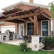 Attaching Pergola To House by Upscale Outdoor Attached Pergola With Columns Attached Pergola