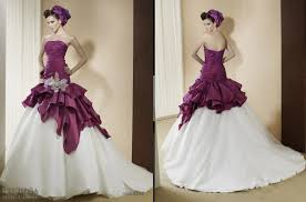 different wedding dress colors wedding dress with color obniiis com