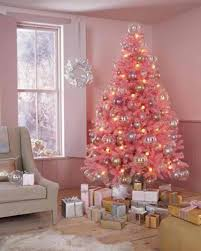 pink christmas tree pink christmas trees happy holidays