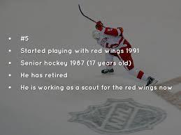 detroit red wings by hugo wickberg