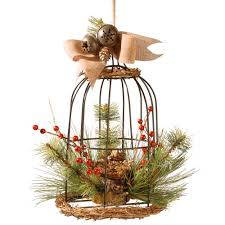 Bird Cage Decor National Tree Company 13 In Bird Cage Decor Rac 15318ds13 The
