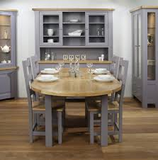 round oak dining room table set exclusive home design