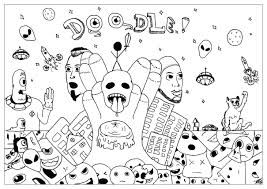 doodle alan 2 doodling doodle art coloring pages for adults