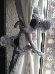Nursery Curtain Tie Backs by A Pair Of Koala Curtain Tie Backs Nursery Curtains Tie Backs