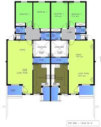 Floor Plan For 2 Bedroom House House Plans For 2 Bedroom Semi Detached Bungalow Google Search