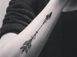 3d arrow tattoos for on forearm the ask idea