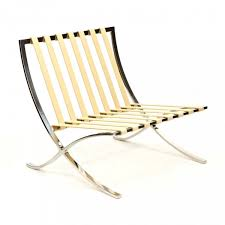 Barcelona Outdoor Furniture by Style Cream Barcelona Chair Cult Uk
