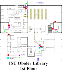 emergency floor plans idaho state university library