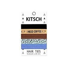 kitsch hair ties buy kitsch 5 print hair ties set in in cheap