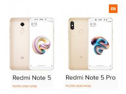 Redmi Note 5 Pro Redmi Note 5 And Note 5 Pro Officially Launched