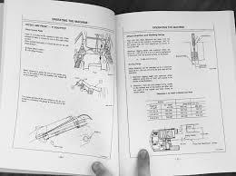 hitachi ex60 2 excavator operation operator maintenance manual