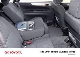 toyota avensis verso avensis verso interior 2004 2006 toyota uk media site