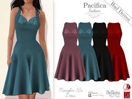 second life marketplace pacifica fashion marylin 50s dress