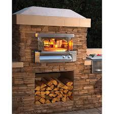 Outdoor Pizza Oven Alfresco Built In Axe Pizza Oven Axe Pza Bi