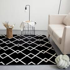 Black And White Modern Rug by Online Get Cheap White Modern Rugs Aliexpress Com Alibaba Group